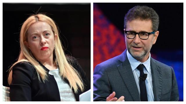 Giorgia Meloni si è scagliata contro Fabio Fazio riguardo ad una battuta a Macron