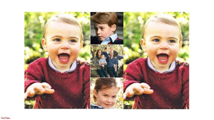 O caçula da família real completou um ano de idade