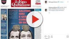 Marco Travaglio prende le parti della Lega: 'Non è il partito della mafia'