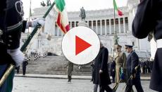 Liberazione: il Presidente Mattarella depone l'alloro all'Altare della Patria