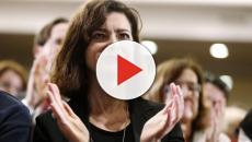 Laura Boldrini canta 'Bella ciao'