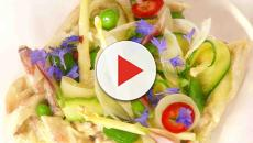Simple Sweet and sour crab salad recipe