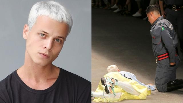 El modelo brasileño Tales Cotta, muere en la pasarela mientras desfilaba
