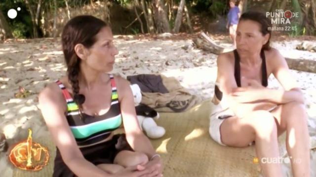 Isabel Pantoja al borde de un ataque de ansiedad y las 'Azúcar Moreno' la traicionan