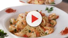 Ricetta delle Fettuccine all'Alfredo con gamberetti, piatto famoso in tutto il mondo