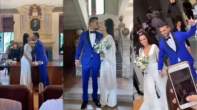 Manon et Julien Tanti se marient et dévoilent les premières images