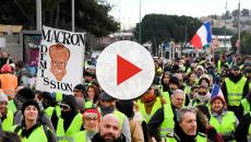 France's anti-government yellow vest protests continue for 25th week