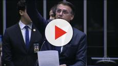 Silvio Santos recebeu Bolsonaro em seu programa neste domingo (5)