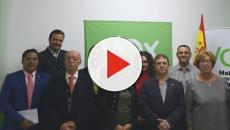 Registran en vídeo la tensión vivida en una asamblea de VOX en Málaga
