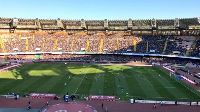 Tentato furto allo stadio San Paolo, durante la partita Napoli-Cagliari