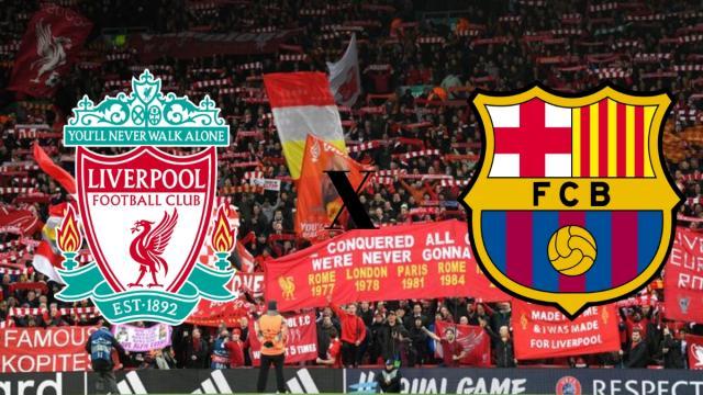 Liverpool x Barcelona: transmissão ao vivo no Facebook e TNT nesta terça (7), às 16h