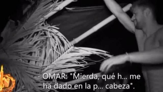 Supervivientes 2019: Omar Montes sufre un aparatoso accidente golpeándose la cabeza