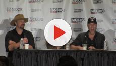 Trio de protagonistas de 'Smallville' se reencontram em evento nos EUA