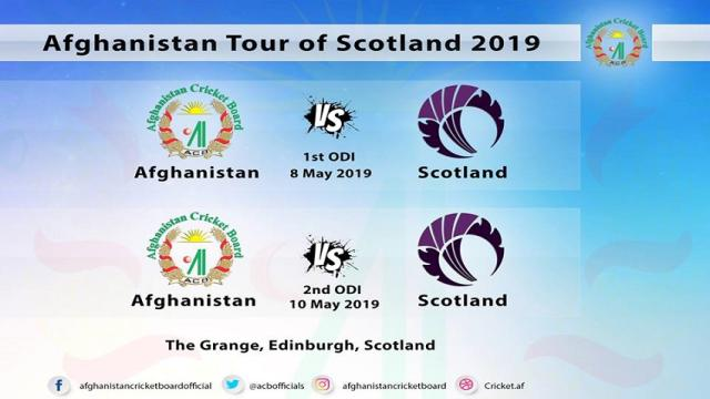 Afghanistan vs Scotland Today's ODI Live Streaming, Highlights on YouTube