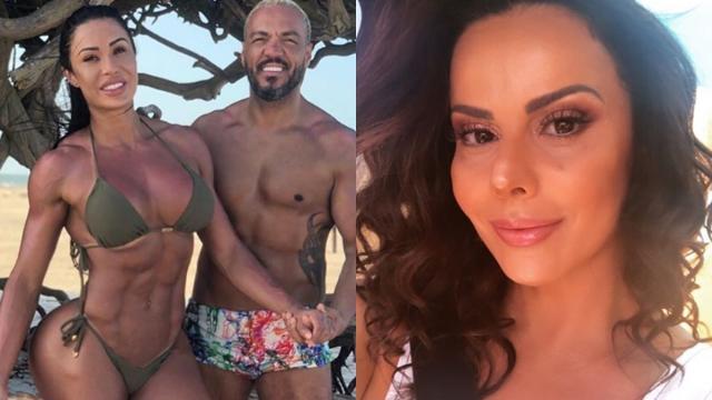Gracyanne aconselha Belo a procurar Viviane Araújo para acabar com as brigas