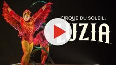 Review of a Cirque du Soleil circus. 'Luzia'
