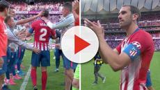 Godín es despedido de Atlético de Madrid con un sentido homenaje