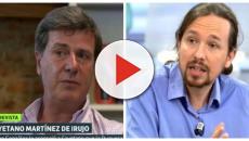 Cayetano Martínez de Irujo arremete contra Pablo Iglesias por su forma de vestir
