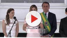 Primeira Dama Michelle Bolsonaro muda visual para acompanhar o marido em viagem aos EUA