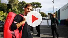 Roger Federer, primo allenamento a Roma: tifosi in delirio