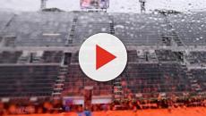 Internazionali d'Italia, la pioggia unica protagonista al Foro Italico
