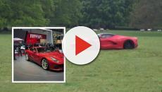 Berlino: finto cliente prova Ferrari in concessionaria e scappa con la macchina