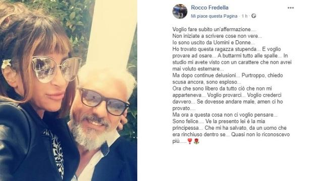 U&D, Rocco Fredella rivela il volto della nuova fidanzata e scoppia la polemica sui social