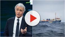 Giletti dubita che i militari non abbiano avvisato i ministri per la Sea Watch