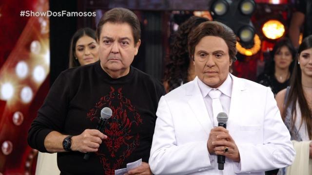 Ceará revela problema de saúde, chora e é consolado por Faustão