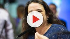 Insatisfeita com Bolsonaro, Janaína Paschoal ameaça deixar o PSL e chama bancada de cega