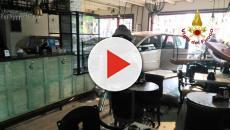 Vicenza, anziana sbanda con l'auto e finisce in una pasticceria: illesa