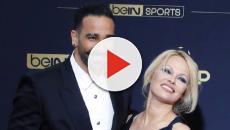 Pamela Anderson aparece junto a Adil Rami en los premios UNFP en París