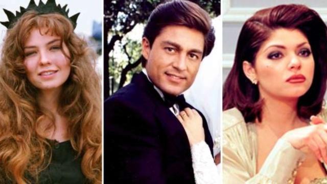 Antes e depois dos atores da novela mexicana 'Maria do Bairro'