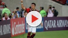 Santos oferece abatimento na divida do Fla por Bruno Henrique para ter Uribe