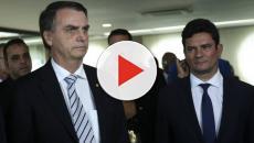 Jair Bolsonaro minimiza derrota do ministro Sérgio Moro na Câmara dos Deputados