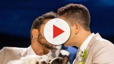 'apenas nosso', diz Carlinhos Maia revelando o motivo de não beijar marido em casamento