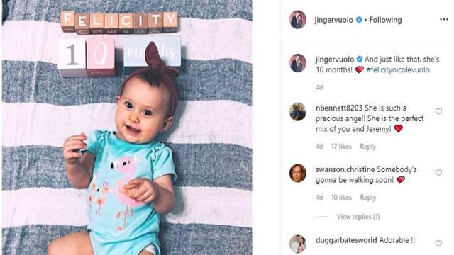 'Counting On' fans love it that baby Felicity seems to be walking at 10-months old