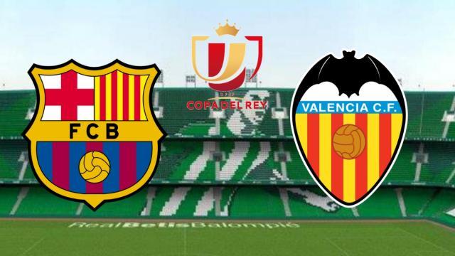 Barcelona x Valencia: transmissão ao vivo da final da Copa do Rei neste sábado (25)