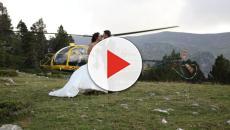 En Brasil una novia casi muere por querer ir al altar a bordo de un helicóptero