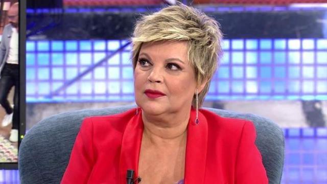 Obligaron a Terelu Campos a sentarse en 'Sábado Deluxe'