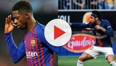 Neymar por Dembélé: Barcelona e PSG estudam troca