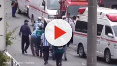 Kawasaki, Japan: Man attacks school children awaiting a bus, one adult and a child die