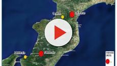 Scossa di terremoto a San Pietro di Caridà: 3.4 di magnitudo della scala Richter