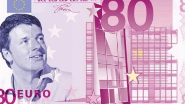 Matteo Renzi su Twitter denuncia il taglio degli 80 euro