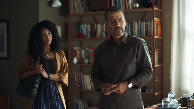 Gilda descobre câncer e Amadeu desiste do divórcio deixando Maria da Paz desolada