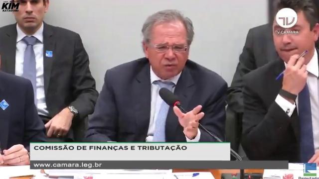Questionamento sobre irmã irrita Paulo Guedes em audiência com deputados