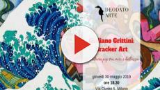 Cracker art a Milano: mostra di Giuliano Grittini tra memoria e futuro