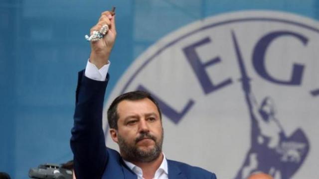 Il Ministro dell'Interno Matteo Salvini si sente