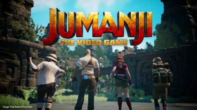 Trailer released for 'Jumanji: The Video Game'