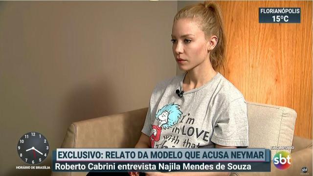 Celle qui accuse Neymar livre tous les détails à la télévision brésilienne